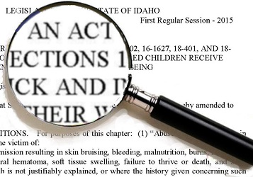 A Bill to prevent religious-based child deaths in Idaho
